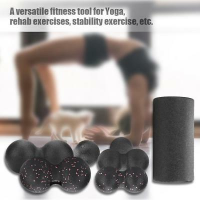 AU13.58 • Buy Gym Exercise Fitness EPP Yoga Foam Roller Massage Trigger Stress Relief Ball Set
