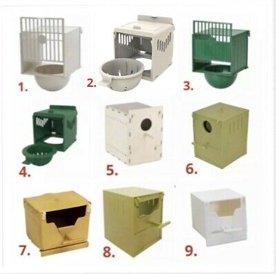 £13.95 • Buy Plastic Canary / Finch Nest Pans / Box-Bird Nest Breeding Boxes For Cage Fixing