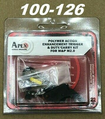 $113.95 • Buy Apex Tactical Action Enhancement Polymer Trigger Kit For M&P 2.0, M&P45 100-126