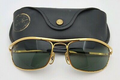 ffd0fd4f0ce Vintage B L Ray Ban Bausch   Lomb G15 Olympian DLX Deluxe I L0255 W Case