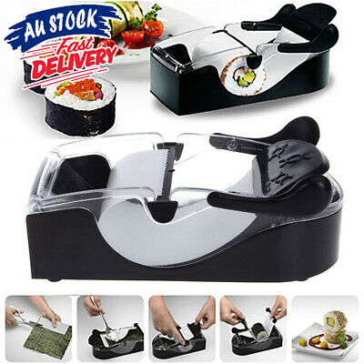 AU13.29 • Buy Sushi Maker Rice Magic Machine Delicious Roll Roller Gadgets Kitchen Mold DIY