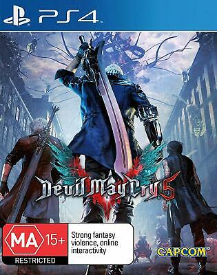 AU49.25 • Buy Devil May Cry 5 PlayStation 4 PS4 Brand New Game