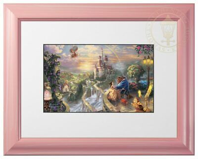 View Details Thomas Kinkade Disney Dreams Collection 9x12 Framed Matted Prints (Choice Of 10) • 24.95$
