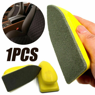 $6.29 • Buy Car Leather Seat Care Detailing Clean Nano Brush Auto Interior Wash Accessories