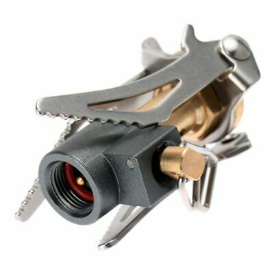 £7.80 • Buy Mini Portable Gas Stove Outdoor Folding Camping Oven Survival Furnace Stove 45g