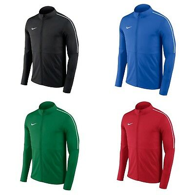 Nike Mens PARK 18 Training Jacket Tracksuit Top Sports Football Track Top S M L • 23.98£