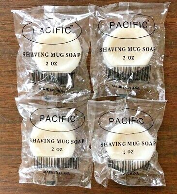 $6.99 • Buy Pacific Shaving Mug Soap   4 Soaps / 2oz Each  NEW