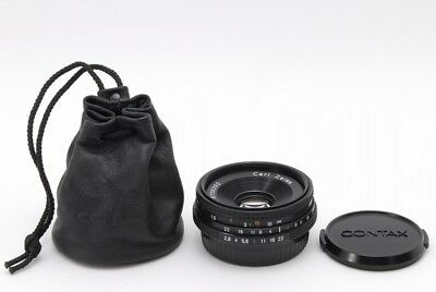 $249.99 • Buy 【 Near Mint 】contax Carl Zeiss Tessar T*45mm F/2.8 AEJ From JAPAN #125-LG098