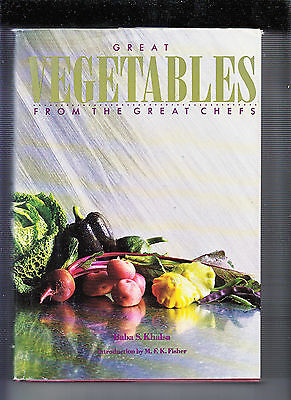 £13.73 • Buy Great Vegetables From The Great Chefs-1st 1990-hb/dj- Expert Advice/recipes Fine