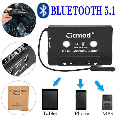 £11.49 • Buy Universal BLUETOOTH CAR AUDIO TAPE CASSETTE ADAPTER FOR IPHONE MP3 IPOD ANDROID