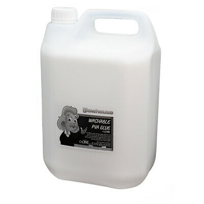 5 Litre PVA Glue Multi-Purpose Slime Glue White School Home Craft Dries Clear  • 12.95£