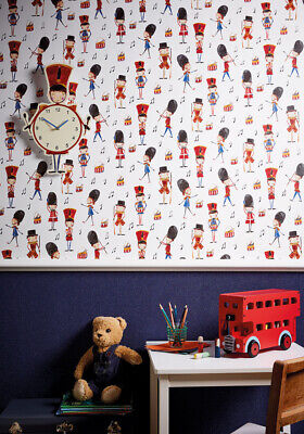 £9.99 • Buy Arthouse Drummer Boy - Red Wallpaper & Matching Accessories