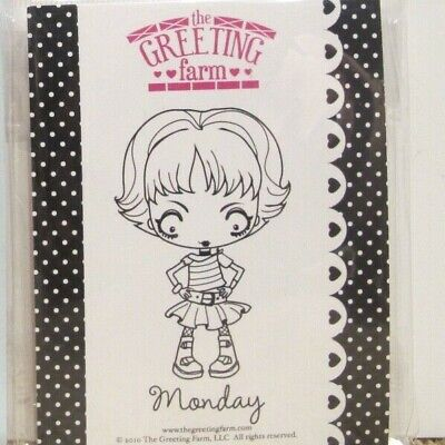 Greeting Farm Stampendous Taylored Expressions Monsters • 2.50$