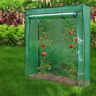 Tomato Greenhouse Reinforced Frame & Cover Outdoor Garden Plant Grow Green House • 115.99£