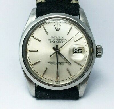 $ CDN4347.52 • Buy Vintage Rolex Datejust Oyster Perpetual Automatic Men Watch 16000 Cal. 3035