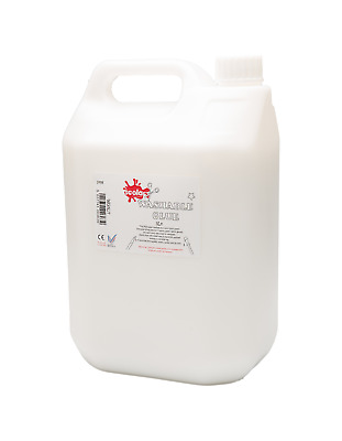 Scola PVA Multi-Purpose 5 Litre White Glue Tub School Home Craft Dries Clear • 11.95£