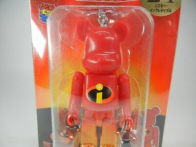 $7.50 • Buy Bearbrick Be@rbrick Disney Christmas Party 2013  The Incredibles #24  Medicomtoy