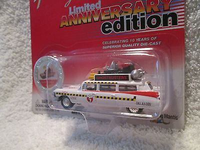 Johnny Lightning Limited Ann Edition Ecto-1a 1959 Cadillac Ghostbusters 1/64 • 28.13£