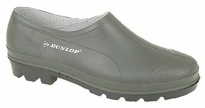 Mens Ladies Size 3 4 5 6 7 8 9 10 11 Green Dunlop Wellys Welly Wellies Clog Shoe • 10.67£