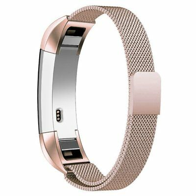 AU10.32 • Buy For Fitbit Alta Bands, Adjustable Stainless Steel Metal Wristbands