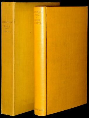 $113 • Buy Edith Sitwell / ALEXANDER POPE Limited 1st Edition 1930 #274637