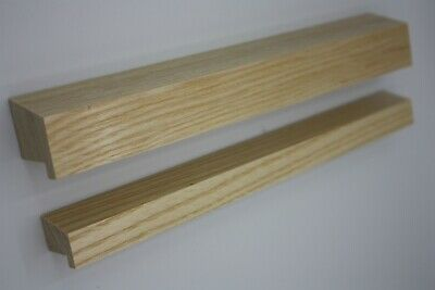 £5.50 • Buy 25 Cm Wooden Handles In Solid Pine For Cupboards Cabinets Drawers Real Wood