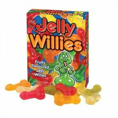 £4.85 • Buy JELLY WILLIES Willy SWEETS Penis PECKER Fun GIFT UK FAST POST