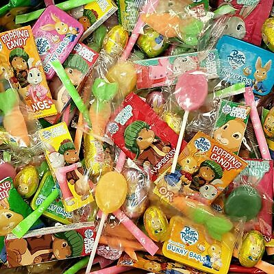 £500 • Buy 🐰EASTER PETER RABBIT CHOCOLATE & SWEETS Eggs Sherbet Popping Candy Sticks🥕