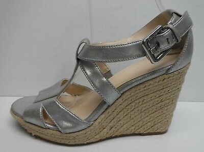 £28.11 • Buy Calvin Klein Size 8 Pewter Wedges New Womens Shoes
