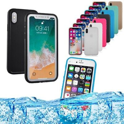 AU9.85 • Buy Life Waterproof Shock Dust Proof Case Cover IPhone X Xs Max XR 8 7 6 6s Plus SE
