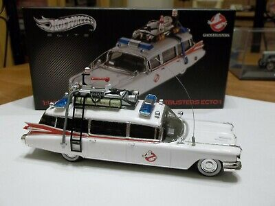 Hot Wheels Elite W1194 Ghostbusters Ecto-1 1/43 Scale RARE • 199.99£