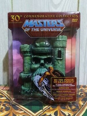 $649.99 • Buy BNIB Masters Of The Universe: 30th Anniversary Commemorative Collection DVD