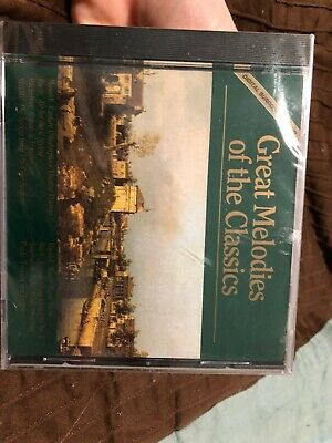 Great Melodies Of The Classics By Various Artists (CD, Oct-1994, 4 Discs,... • 2.90£