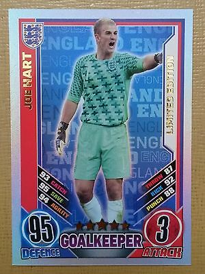 £28.39 • Buy Match Attax England 2012 Topps Joe Hart Limited Edition Card. Rare.
