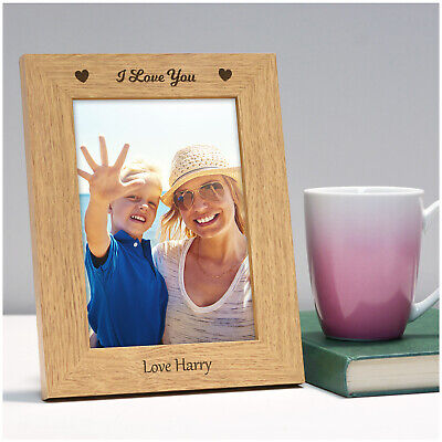 PERSONALISED I Love You Gifts For Mum Mummy Nanny Mam Mothers Day Photo Frame • 11.95£