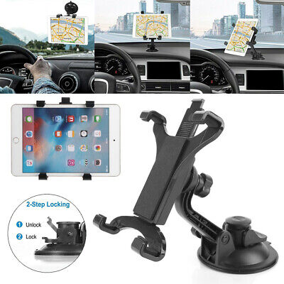 UK NEW 360° Car Windshield Suction Cup Mount Holder Stand For 7 - 11  Tablet PC • 12.99£