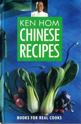 Ken Homs Chinese Recipes - Ken Hom - First Edition - SIGNED - Good - Hardcover • 11£