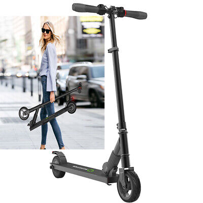 View Details 250W Foldable E-scooter Megawheels Black Teen Adults Electric City Scooter S1 • 145.86£