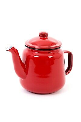 Enamel Teapot 1.5L With Handle And Lid (Various Colours) • 13.95£