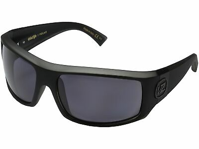 44d1a78ee2 Von Zipper Clutch Polarized Sunglasses - Black Smoke Satin   Vintage Grey  Wildfi • 150.00