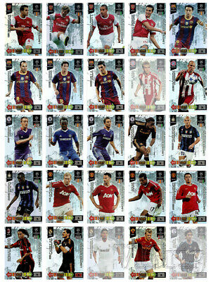 2010 2011 Champions League ADRENALYN XL PANINI - Choose One Limited Edition Card • 19.95£