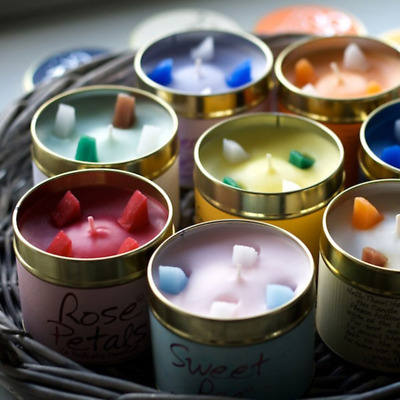 £9.49 • Buy Brand New Lily Flame Tin Candle-Many Fragrances-Free P&P
