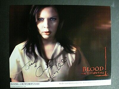 $ CDN28.95 • Buy Authentic Signed Photo Christa Campbell As  Lily  In  Blood: A Buther's Tale-coa