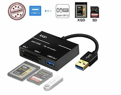 $ CDN25.36 • Buy Camera XQD SD Memory Card Reader USB 3.0 Hub Adapter For Sony/Nikon/Canon/Lexar