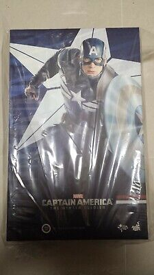 $ CDN661.19 • Buy Hot Toys MMS 242 Captain America 2 Winter Soldier Stealth S.T.R.I.K.E Suit NEW