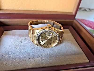 $ CDN29422.86 • Buy Rolex Day Date Men's President Watch,9.5/10,preowned,#18238,all Papers,case,etc