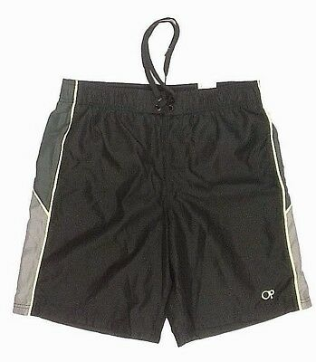 46009f578e OP Mens Swim Shorts Size Medium 32-34 Black Above Knee 20.5 Outseam (N