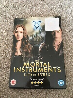 The Mortal Instruments City Of Bones DVD (like New) • 1£