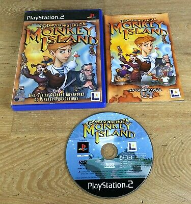 Escape From Monkey Island - Playstation 2/PS2 - PAL **VGC** • 6.95£