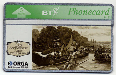 BT Phonecard -  3rd Anniversary Party 25th June 1994 | RARE • 169.99£